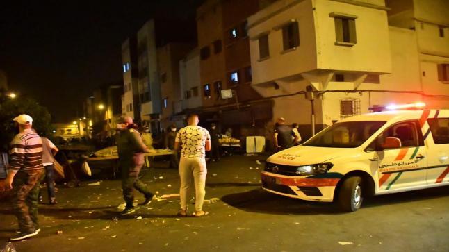 احياء الدار البيضاء تحولت الى حرب مفتوحة بالمفرقعات…