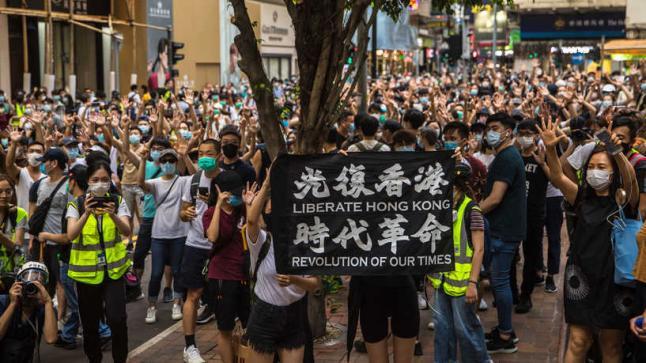"""انجلترا تدين """"انتهاك وتضايقات"""" بكين للإعلان المشترك حول هونغ كونغ"""