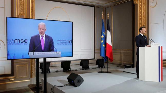 الرئيس الامريكي بايدن يعلن عودة التحالف العابر للأطلسي ويحذر من تهديدات روسيا والصين