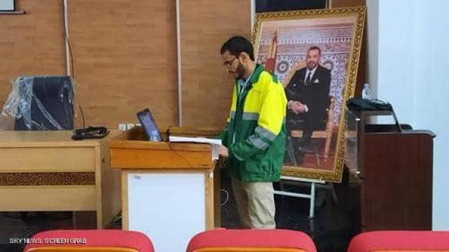 الطالب المغربي عبد الله ويكمان…أطروحة الدكتوراه في مجال هندسة البيئة