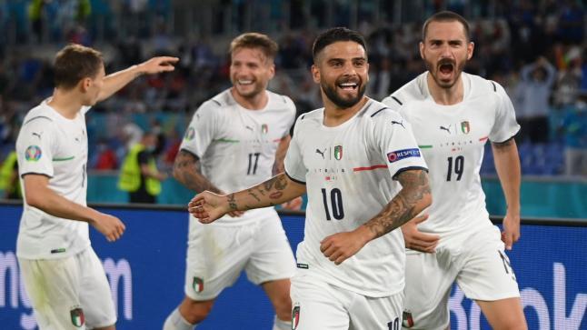 افتتح المنتخب الإيطالي بطولة كأس أوروبا 2020 بدك شباك تركيا بثلاثيةنظيفة
