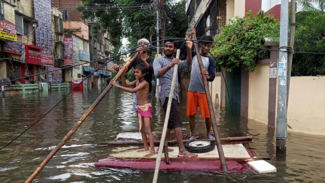 11 هنديا قتيلًا جرّاء الأمطار الموسمية…. في الهند