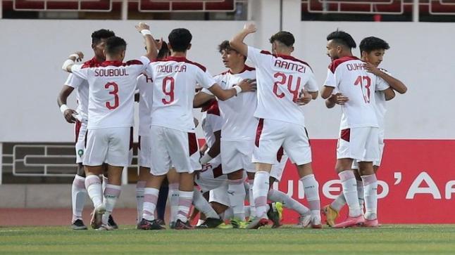 """أشبال المنتخب المغربي"""" يودعون """"كان موريتانيا"""" بضربات الترجيح أمام منتخب تونس"""