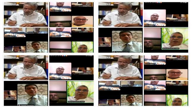 الدورة العادية الثامنة للمكتب التنفيذي للهيئة الوطنية لناشري الصحف بالمغرب.
