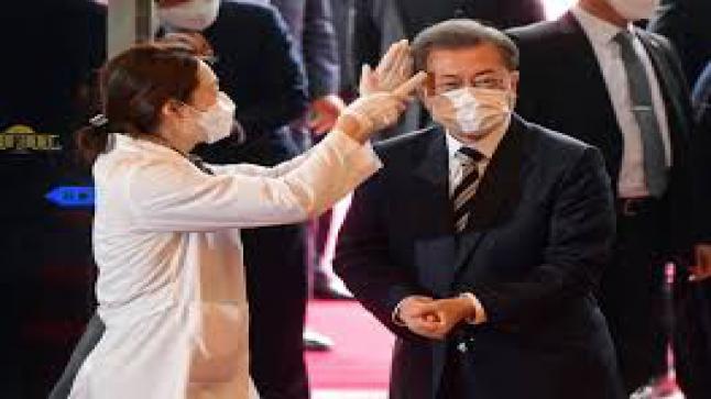 """ماذا قال الرئيس كوريا الجنوبية من """"موجة كورونا"""" ثانية"""