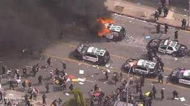 """شرطة مينيابوليس أفقدت 44 شخصا وعيهم بـسبب الرقبة"""""""